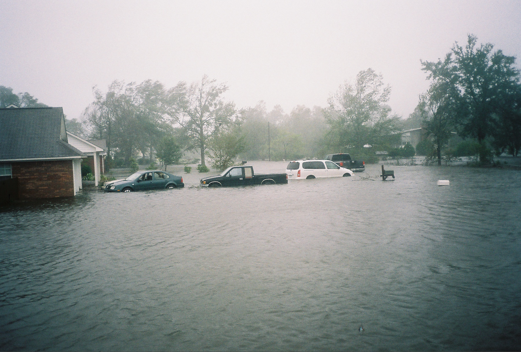Flooded Truck