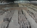 Panoramic View of the Main Terracotta Warrior Excavation