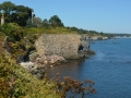 Along Cliff Walk, Narragansett, Rhode Island