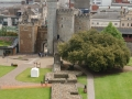 Looking Across Cardiff Castle