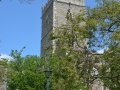 The Ruined Tower of St Mary-le-Port Church