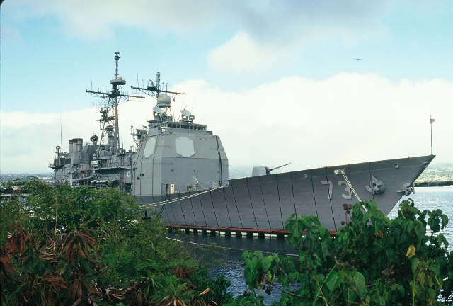 The USS Port Royal by Day