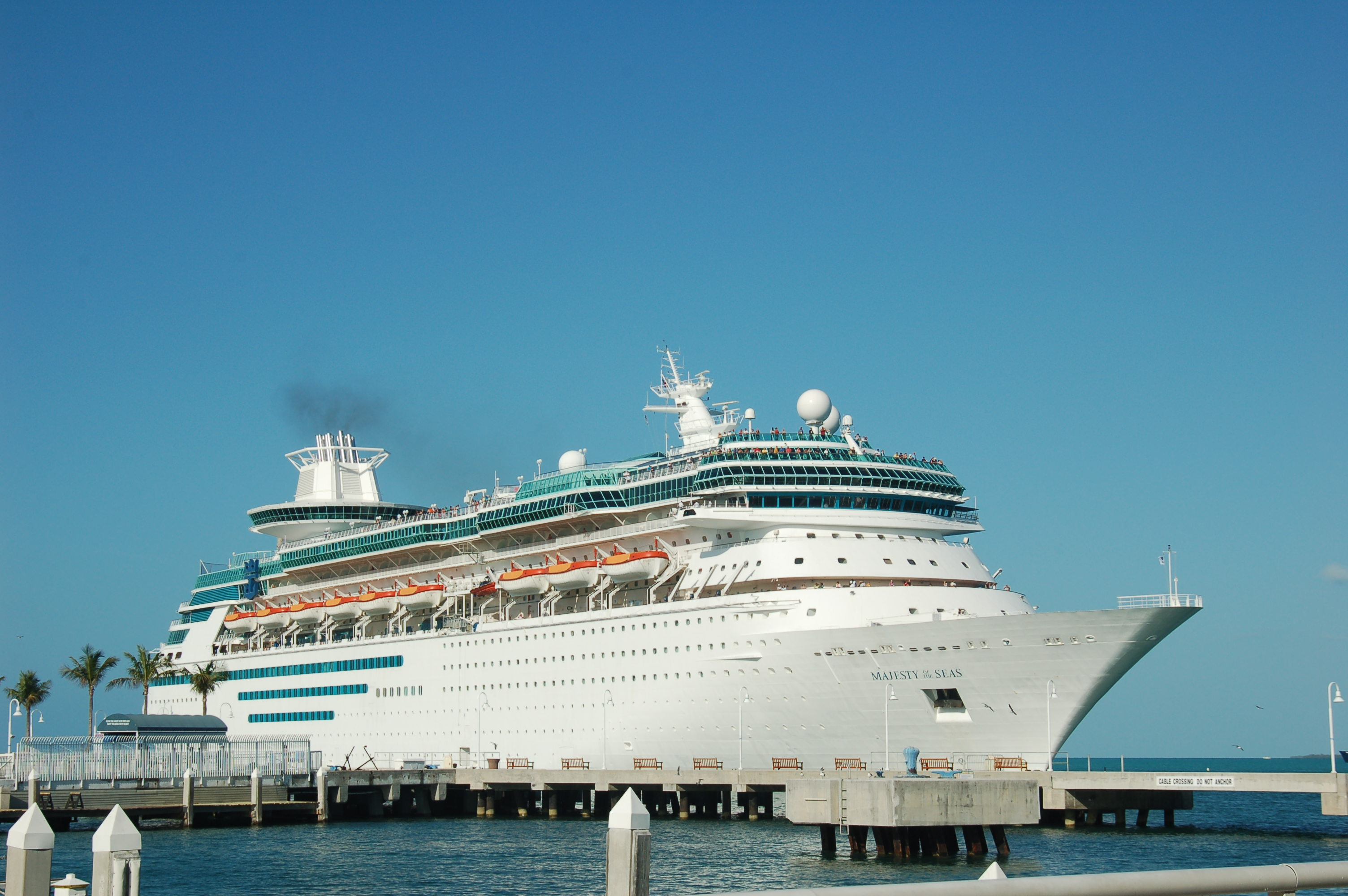 Cruise Liner Majesty Of The Seas