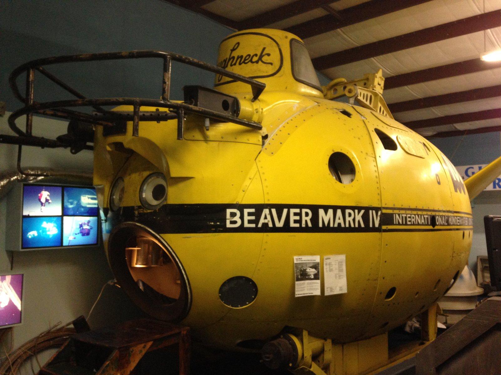 """Deep Diving Submersible """"Beaver Mk II"""""""