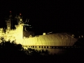 The USS Port Royal By Night