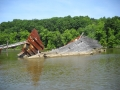 Shipwreck At Mallows Bay