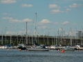 Marina in Cardiff Harbor