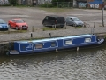 A Canal Boat in Bristol
