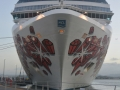 "Bow View of the ""Norwegian Gem"""