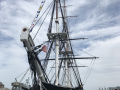 Bow-on View of The USS Constitution