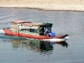 Motor Boat on the Li Jiang River