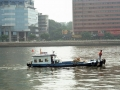Fishing Boat In Guangzhou harbor, China