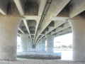 Looking Under the Mission Bay Bridge