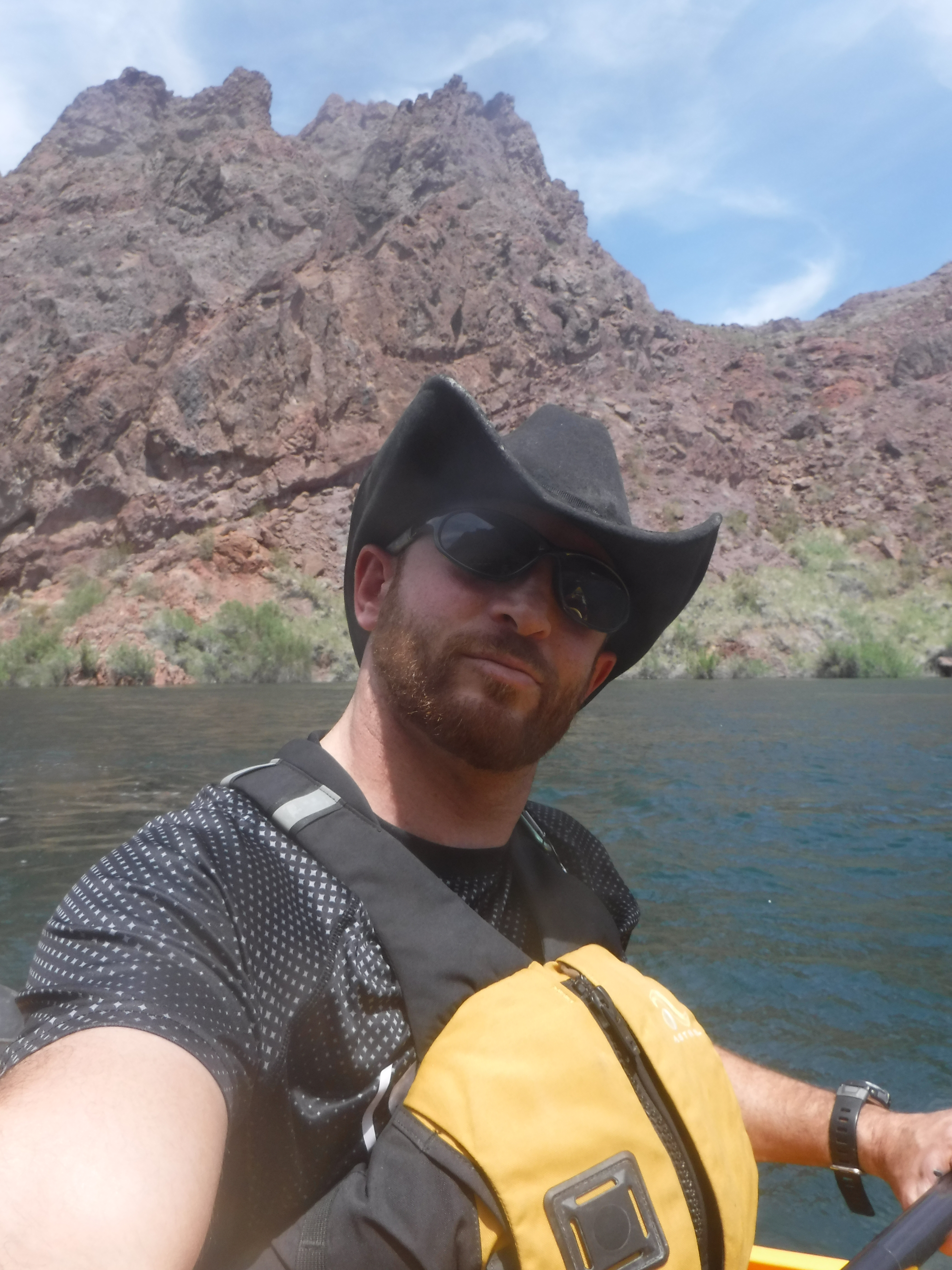 A Selfie Of Our Kayaking Guide