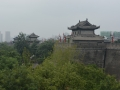 Looking Across The City Wall Around Xi'an