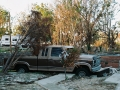 A Pickup Truck After Hurricane Katrina