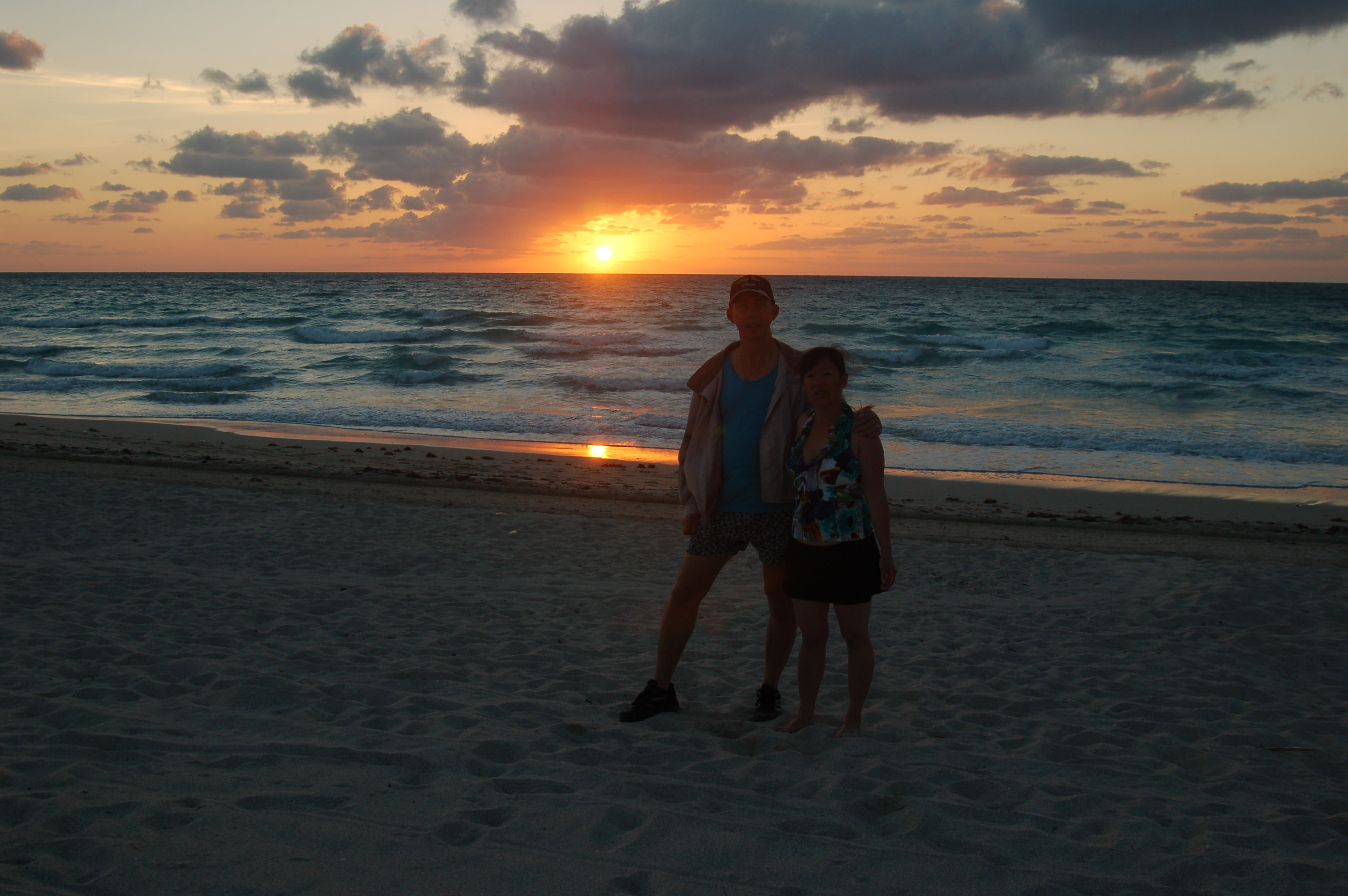 Sunset Over South Miami Beach