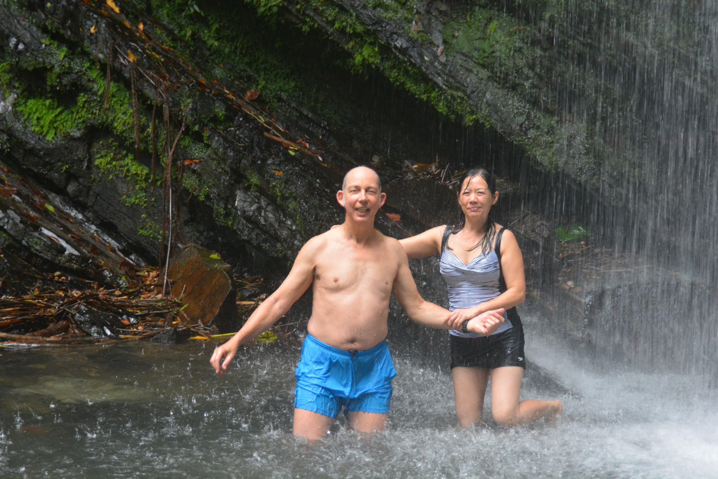 Ron and Winnie in El Yunque National Park