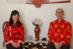 Ron and Weifang Charest