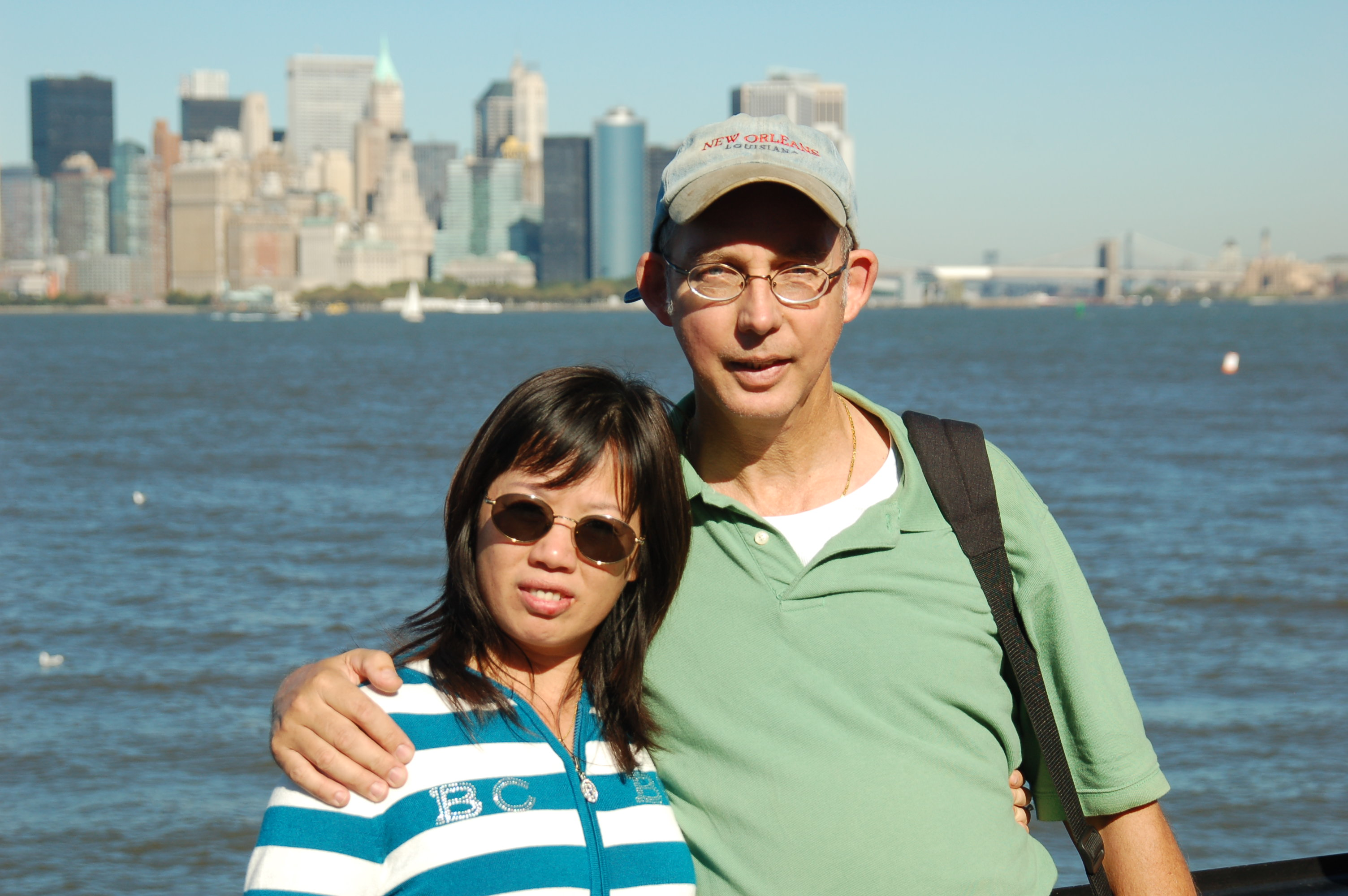 Ron and Winnie in New York City