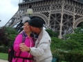Ron and Winnie At the Eiffel Tower