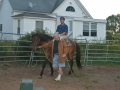 Ron on a Horse