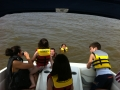 Boating with the Torrence Family