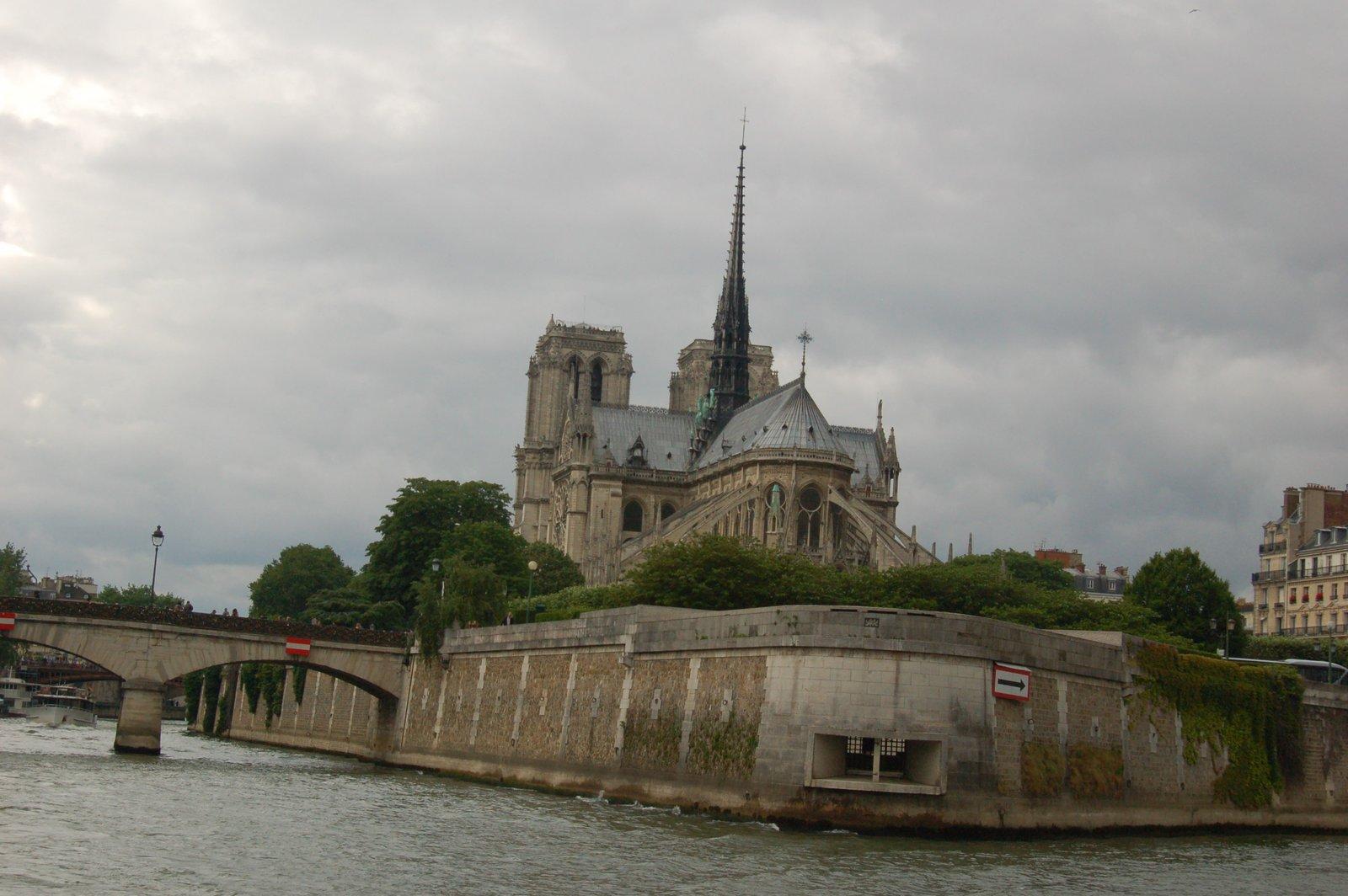 The Notre Dame, Paris