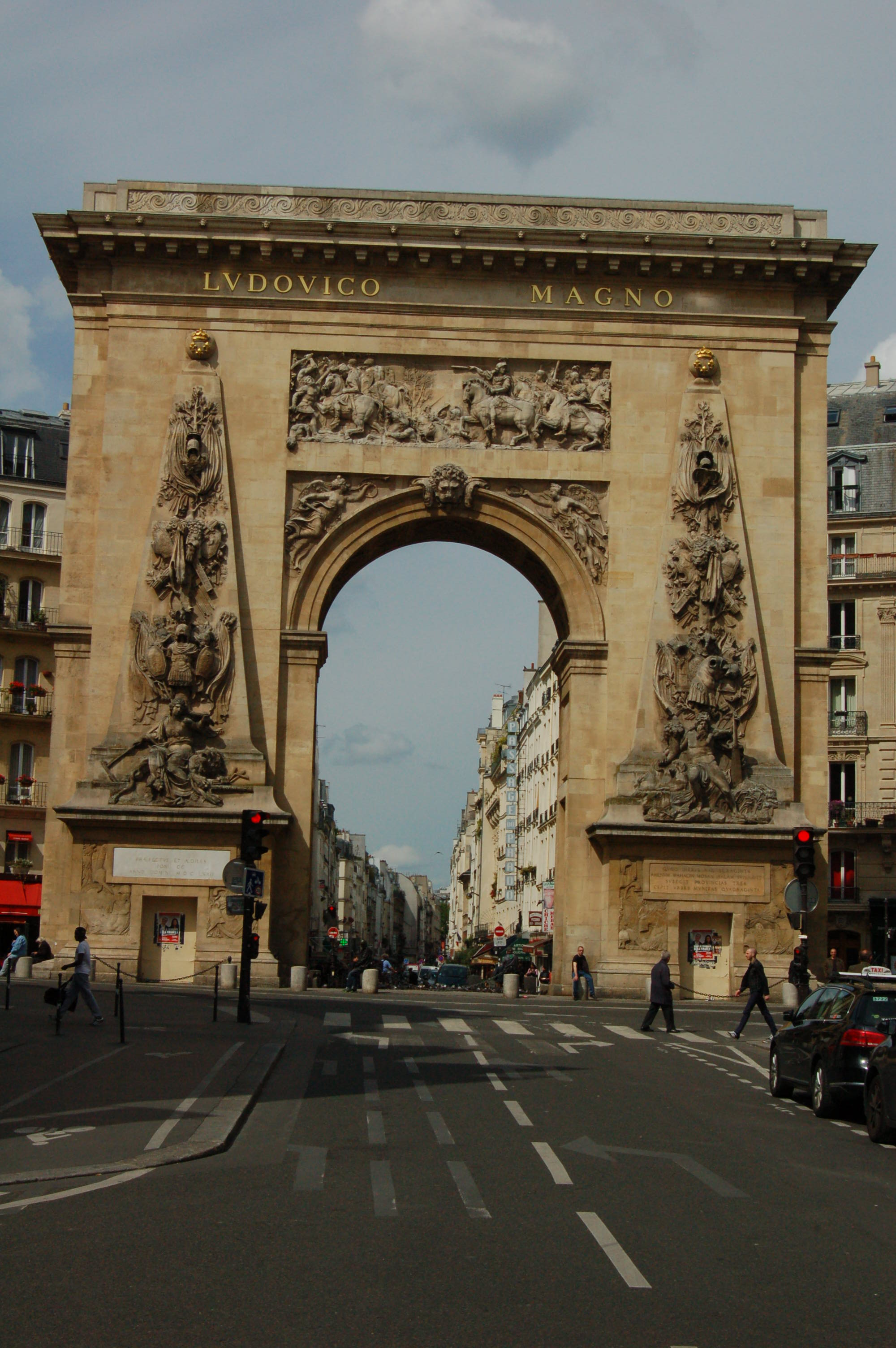 A Small Arch in Plaza St. Denis