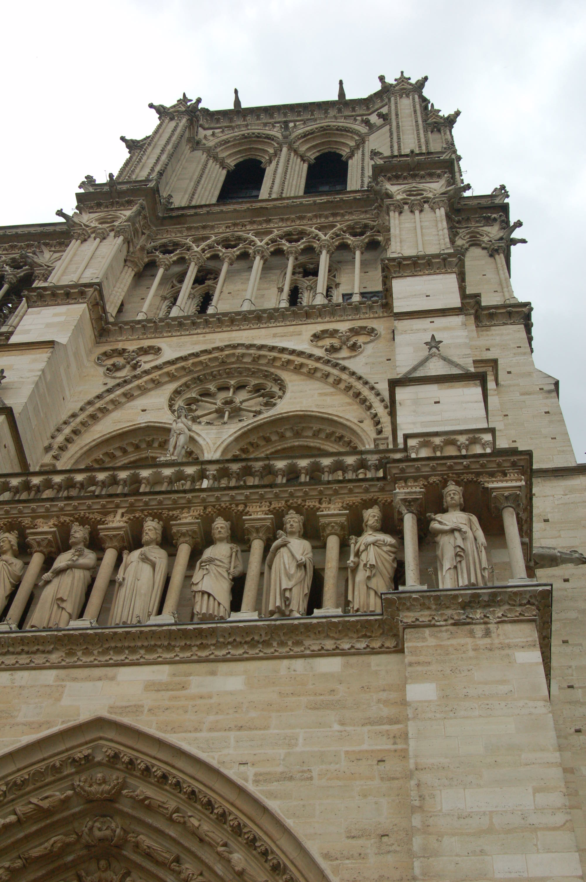 Details of the Notre Dame