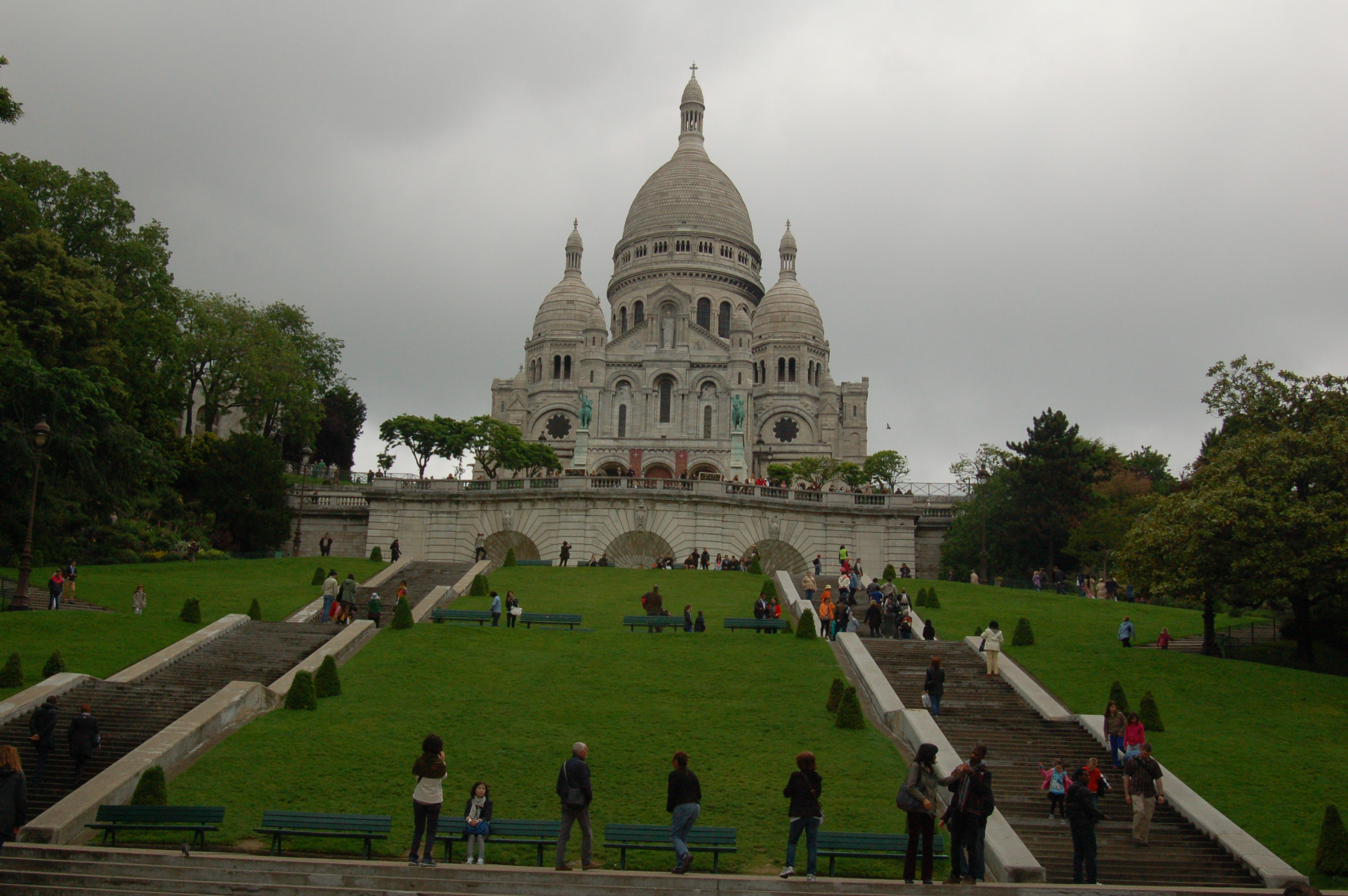 Basilica of the Sacred Heart of Paris on Montmartre