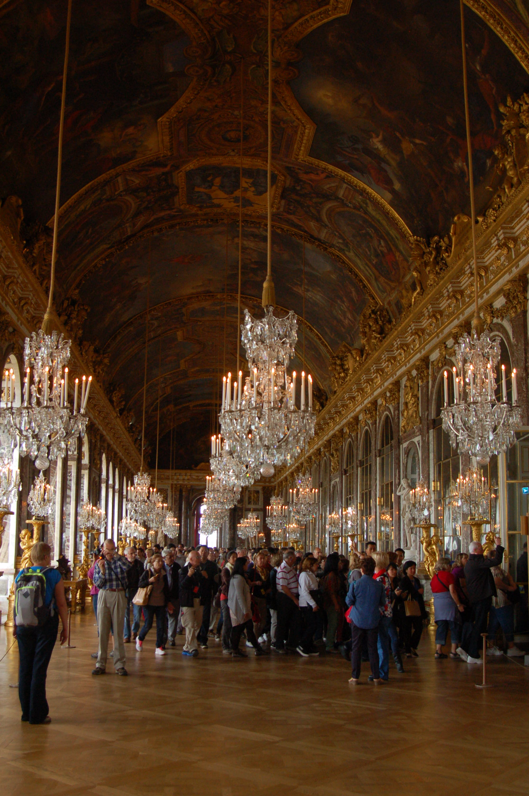 Hall Of Mirrors, Palace Of Versailles