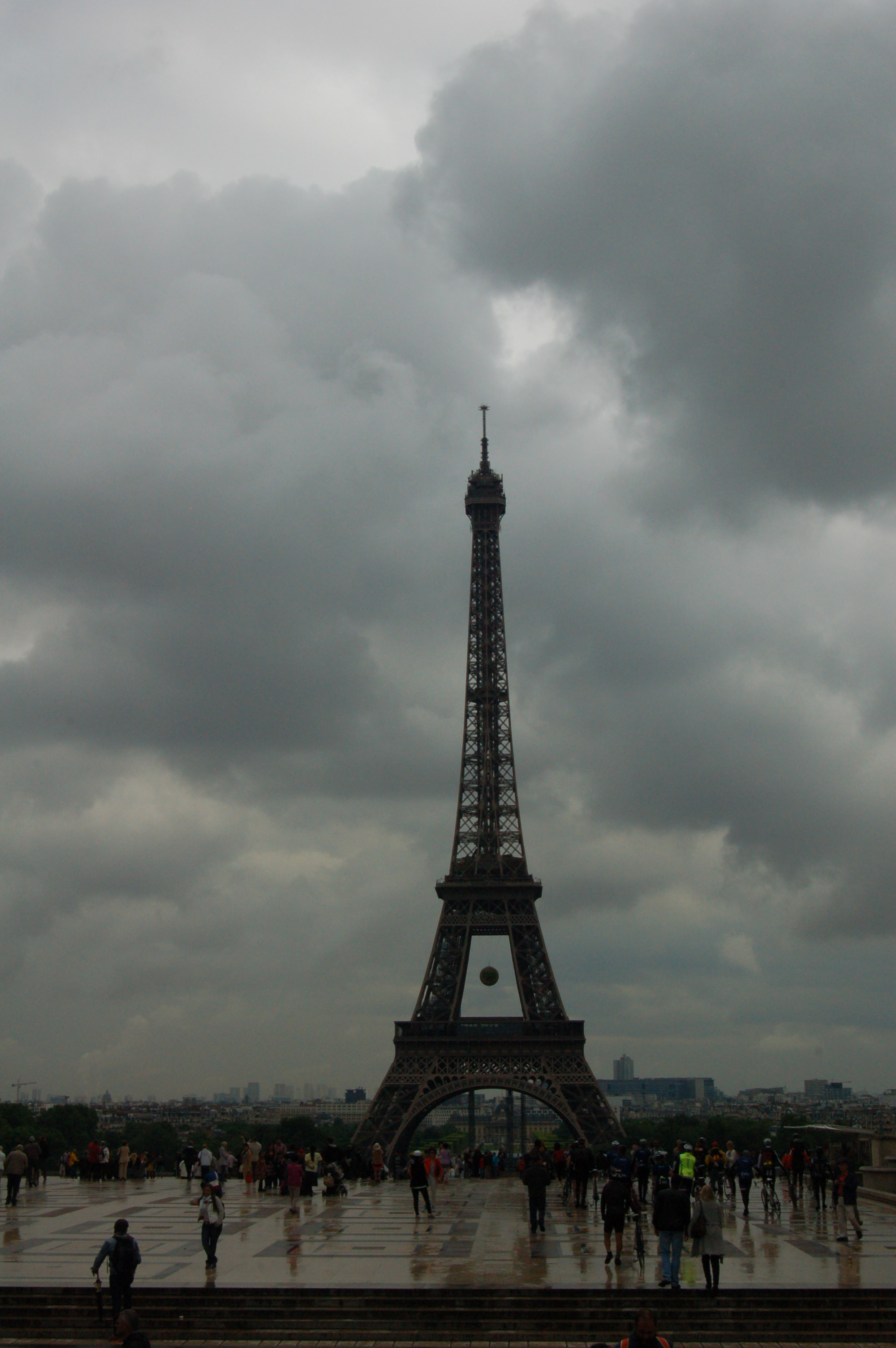 Eiffel Tower in the Distance