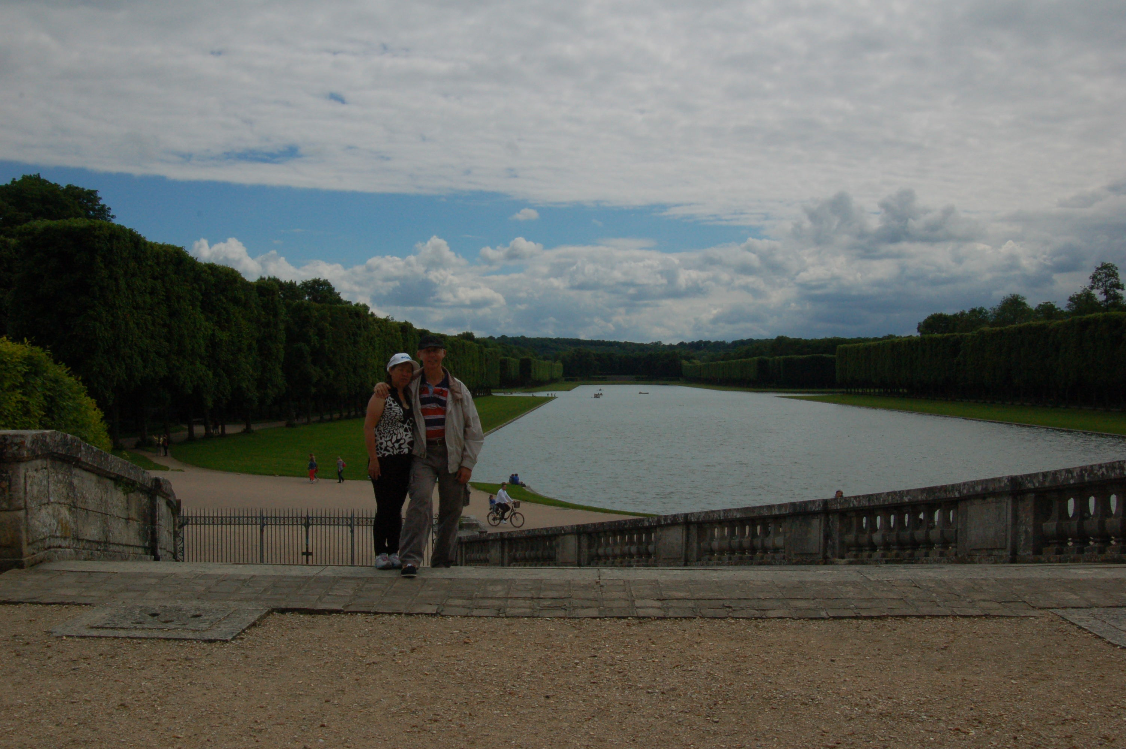 Gardens Outside Versailles