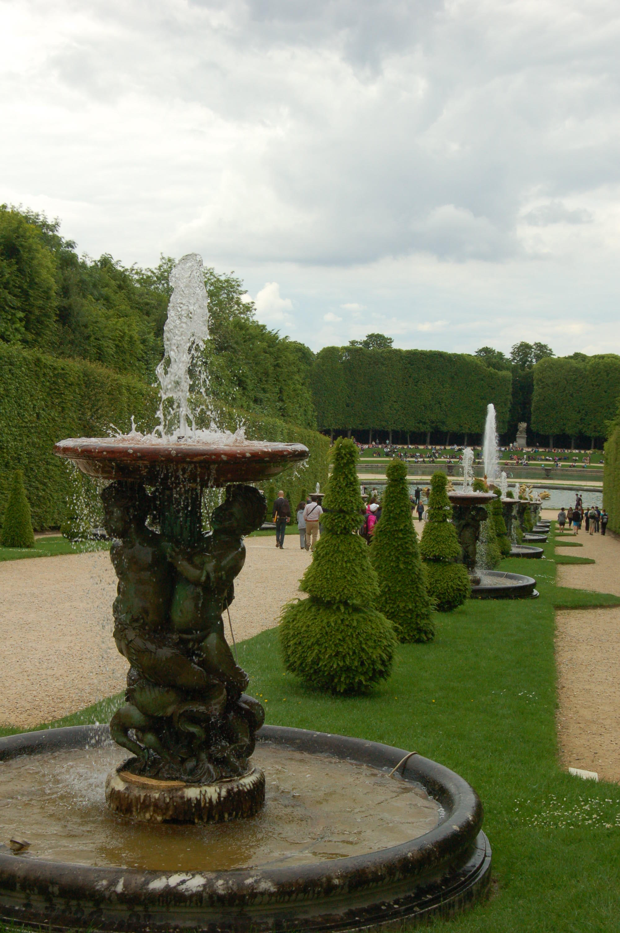 Fountains Of Versailles