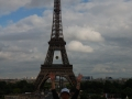 The Eiffel Tower From Musee De L'Homme