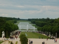 Overlooking The Gardens Of Versailles