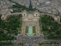 Musee De L'Homme From Top Of The Eiffel Tower