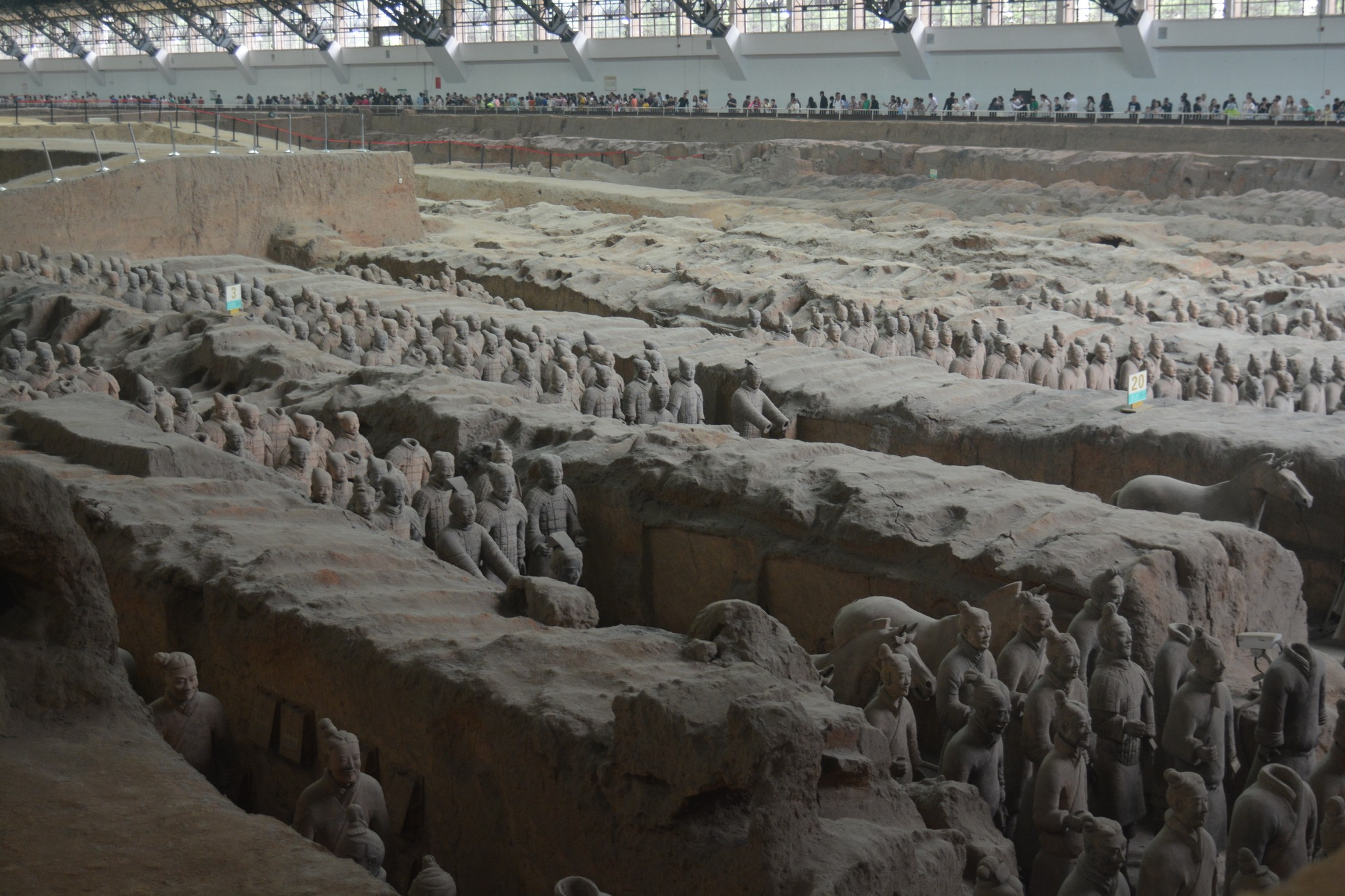 The Archaeological Site of The Terracotta Army