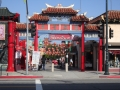 Gateway To The Los Angeles Chinatown