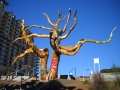 Tree Sculpture In Destin, Florida