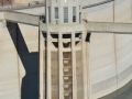 Hoover Dam Inlet Tower