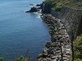 Along Cliff Walk, Narragansett, Rhode Island