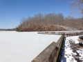 Deep Freeze On Occoquan Reservoir, Virginia