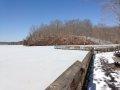 Deep Freeze On Occoquan Reservoir, Virginia