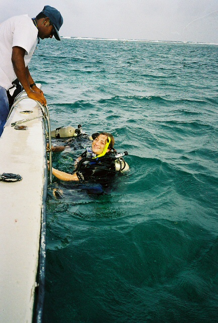 The End of  A Dive in the Belize Barrier Reef