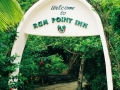 Entrance to Rum Point Inn