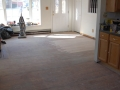 Living Room Floor - Before Refinishing