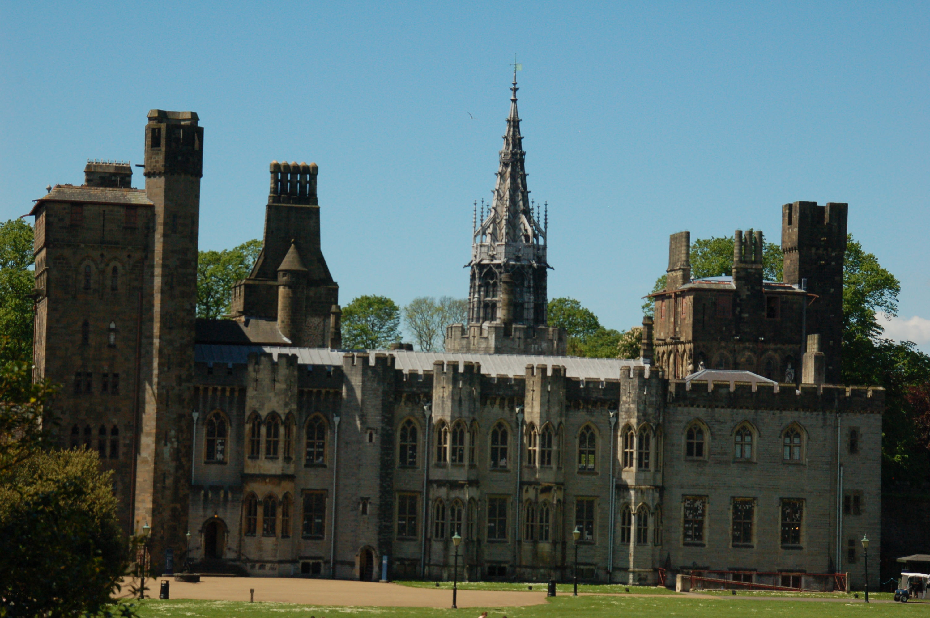 The 18th Century Mansion of Cardiff Castle