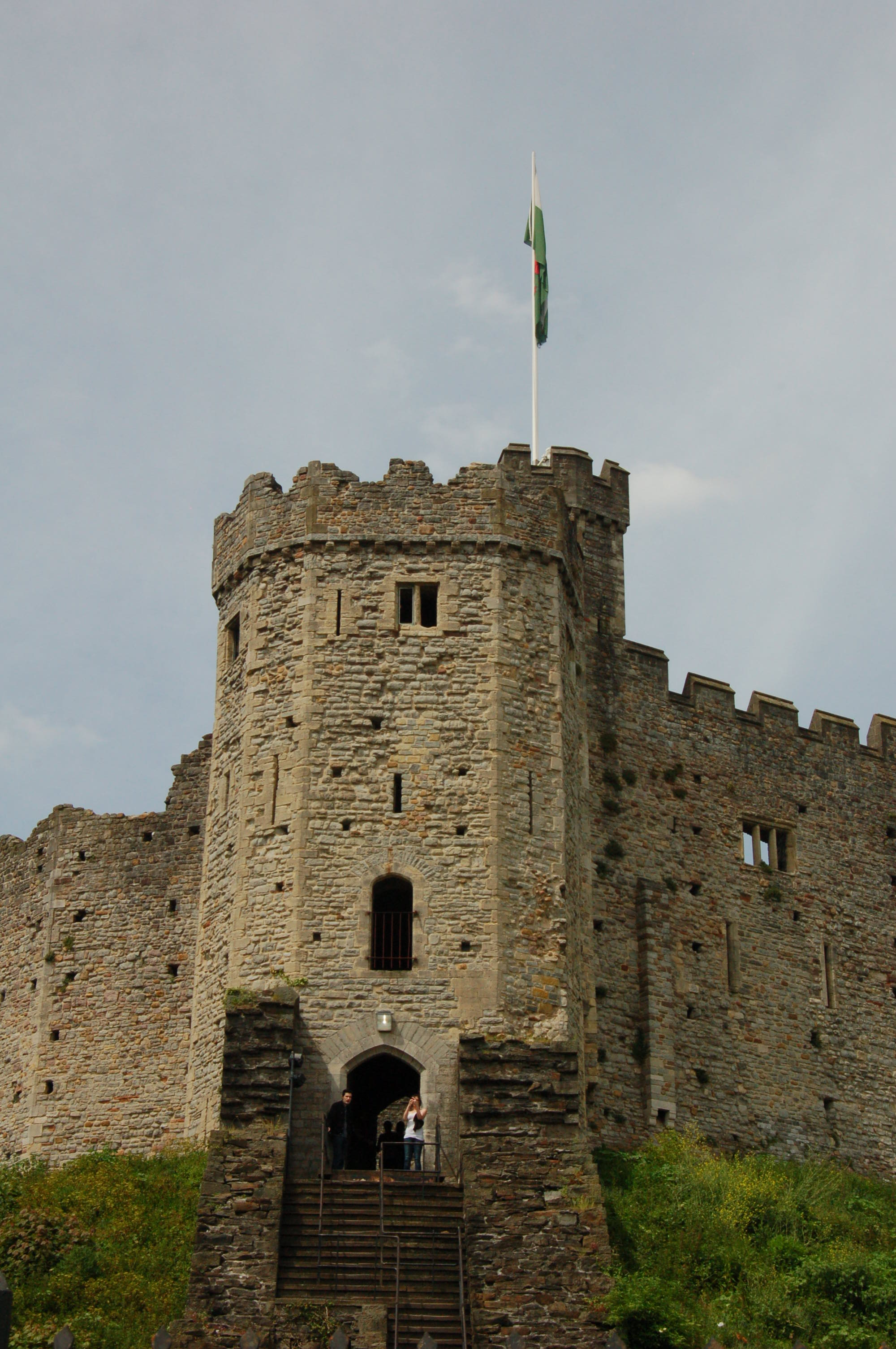 Norman Shell Keep of Cardiff Castle